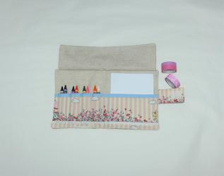 Kit da disegno con pastelli a cera - candy cats