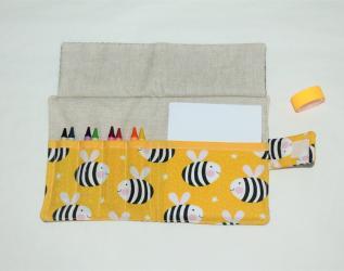 Kit da disegno con pastelli a cera - api giganti