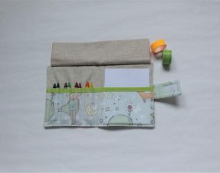 Kit da disegno con pastelli a cera - piccolo principe