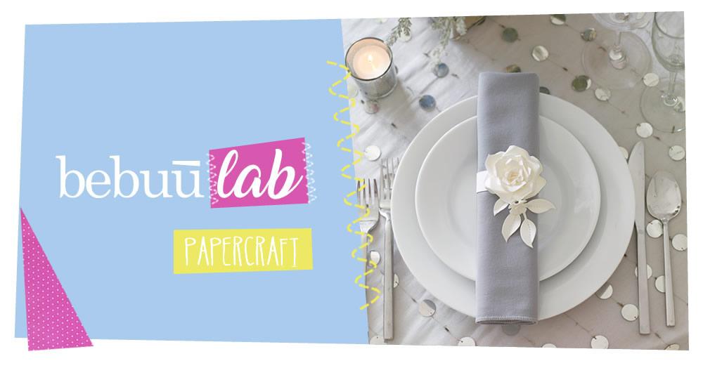 Paperflower: segnaposto che passione