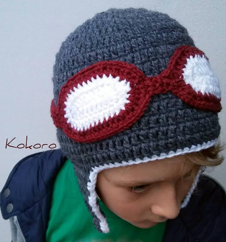 Cappello da bambino in lana con paraorecchie 724818e342c0