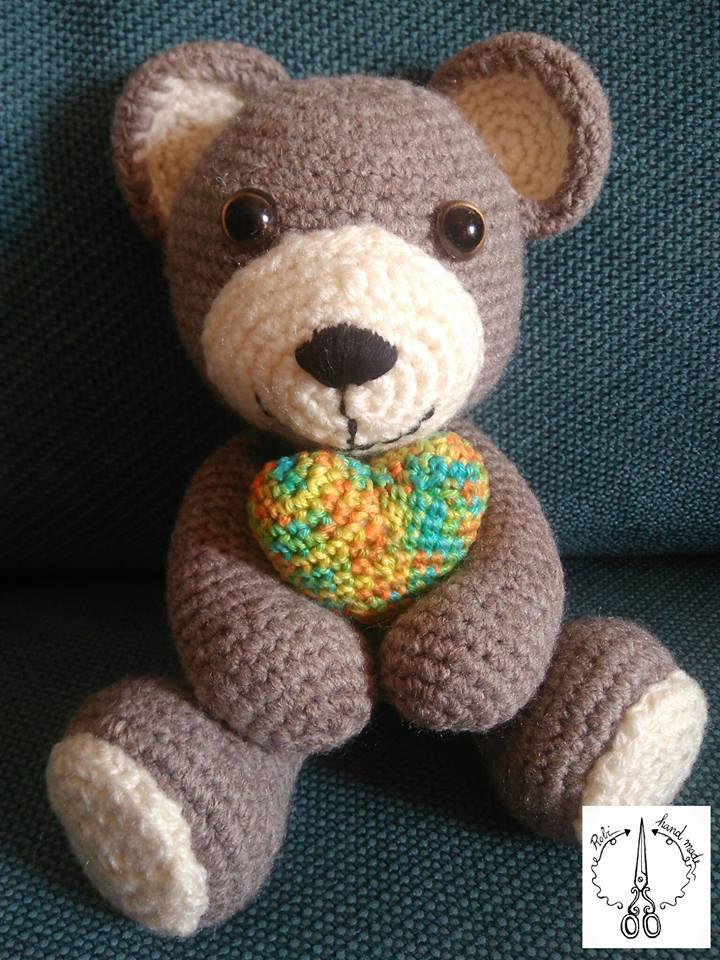 Tutorial: come realizzare un orsetto amigurumi - Dhg | 960x720