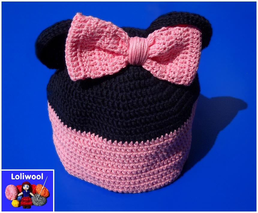 Cappellino Minnie Per Bambina Alluncinetto
