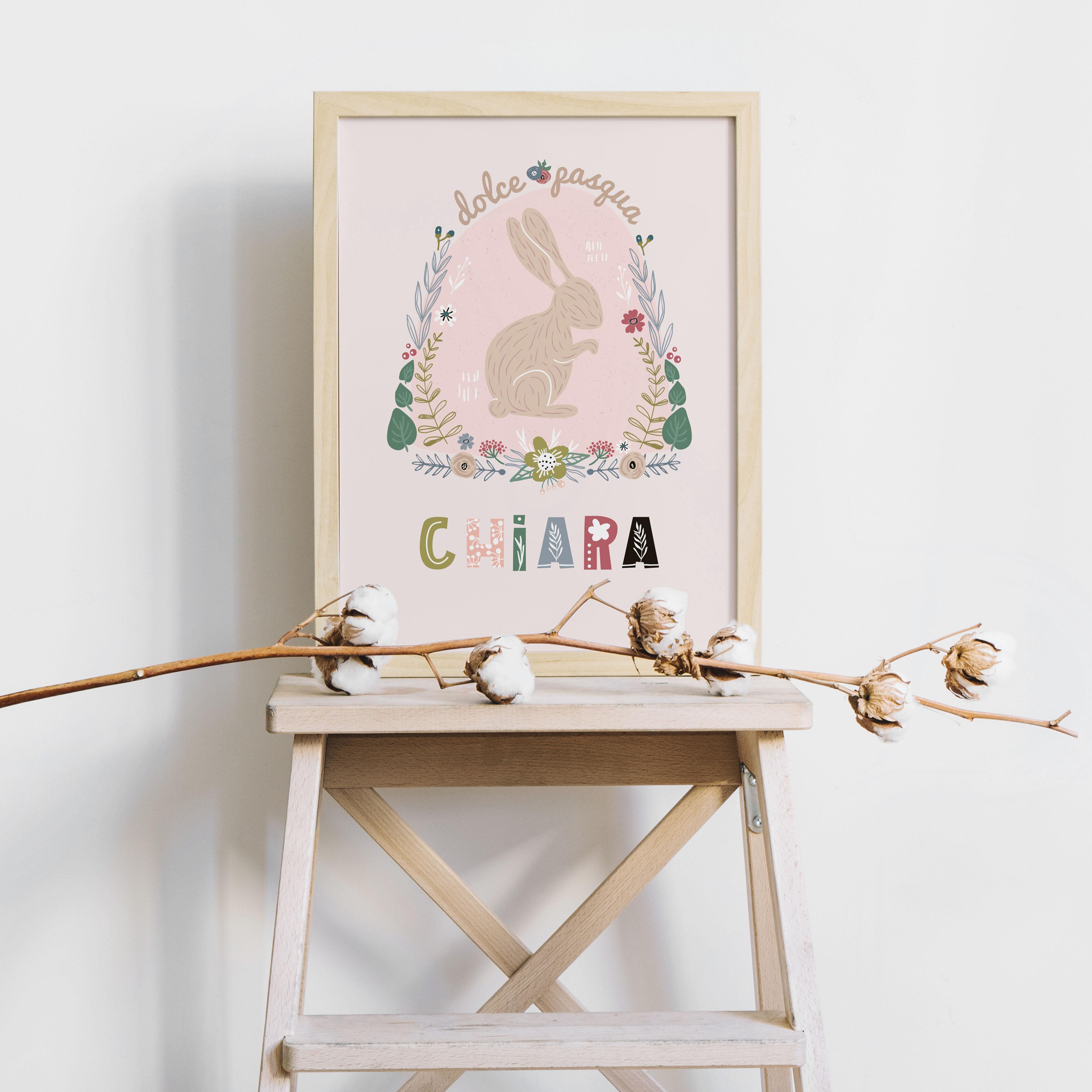 Poster idea regalo per Pasqua