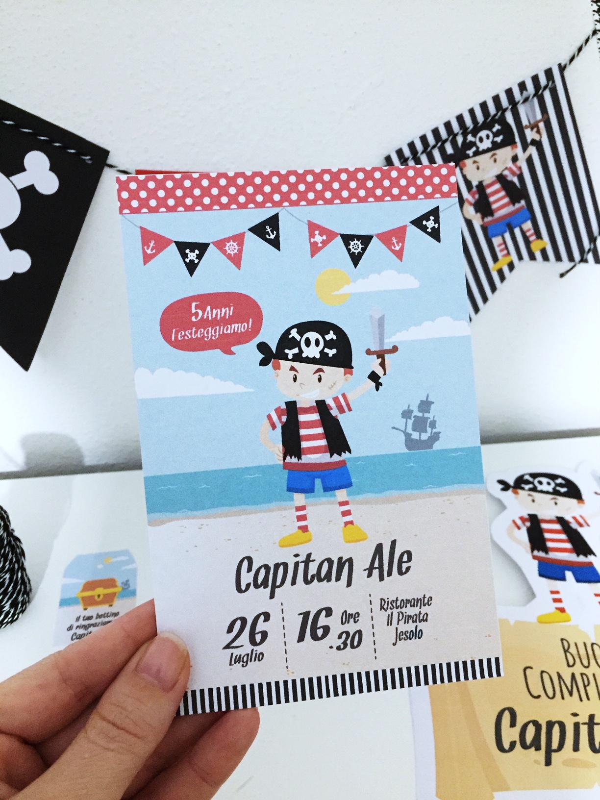 Kit Compleanno Pirata