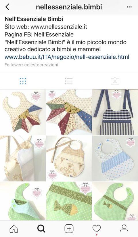 Nell'Essenziale Bimbi è su Instagram!