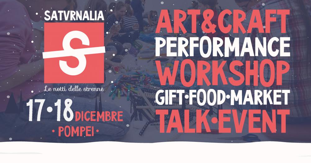 Satvrnalia, le notti delle strenne | 17-18 Dicembre- Pompei