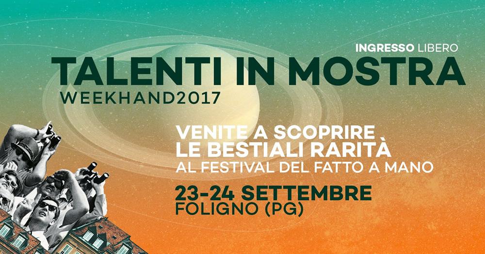 Week Hand- il festival 100% creativo