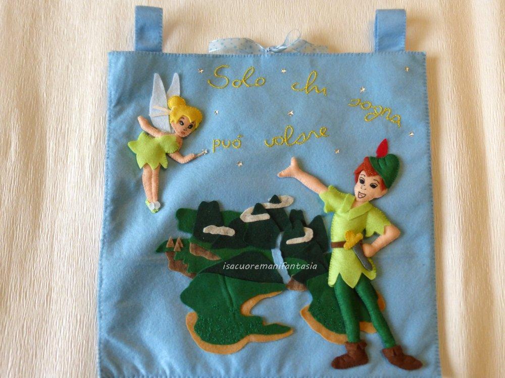 Portapigiamino Peter Pan - Portapigiamino pannolenci