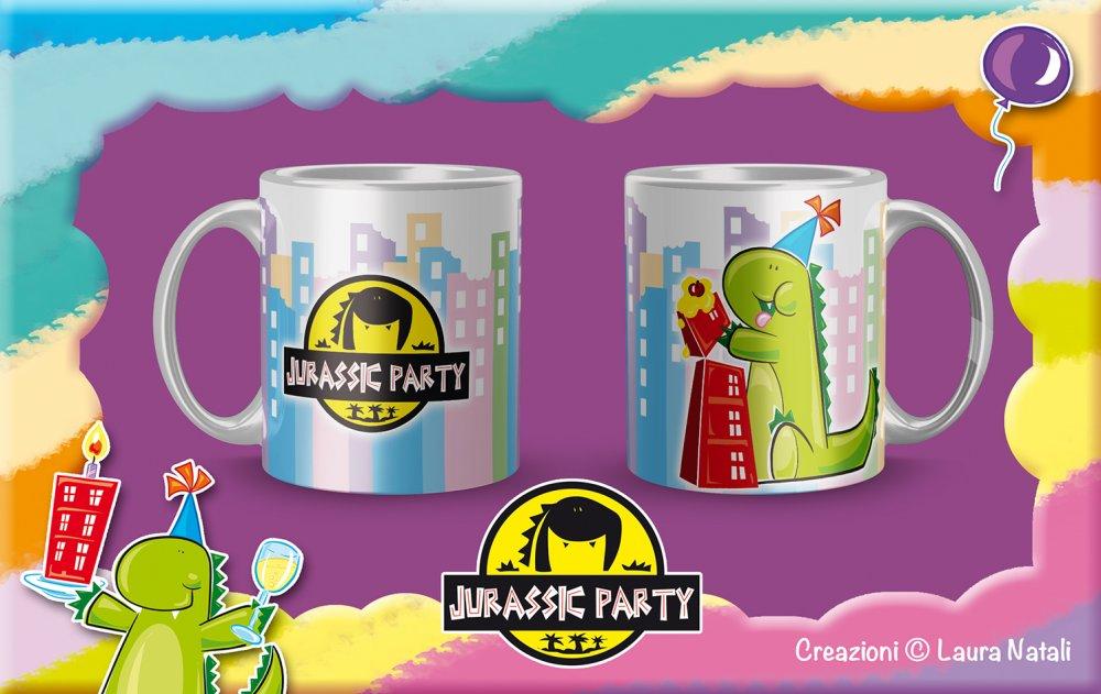 Tazza Jurassic Party