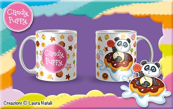 Tazza con Pandino Candy Puppy