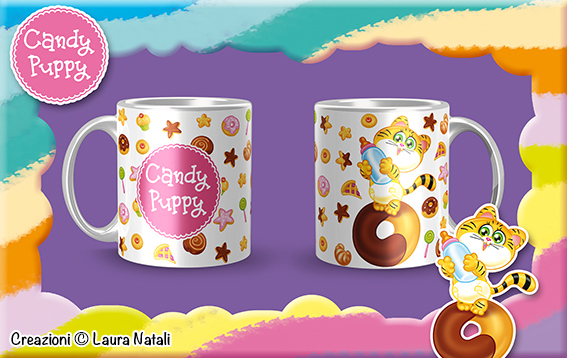 Tazza con Tigrotto Candy Puppy