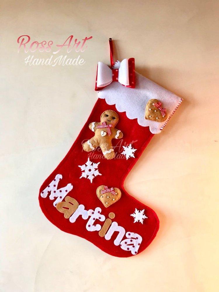 Calze della befana Natale personalizzabili