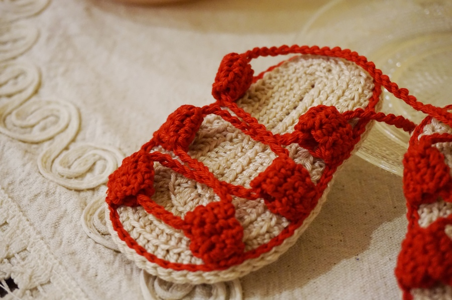 Sandaletti modello schiava, neonato 3-6 mesi