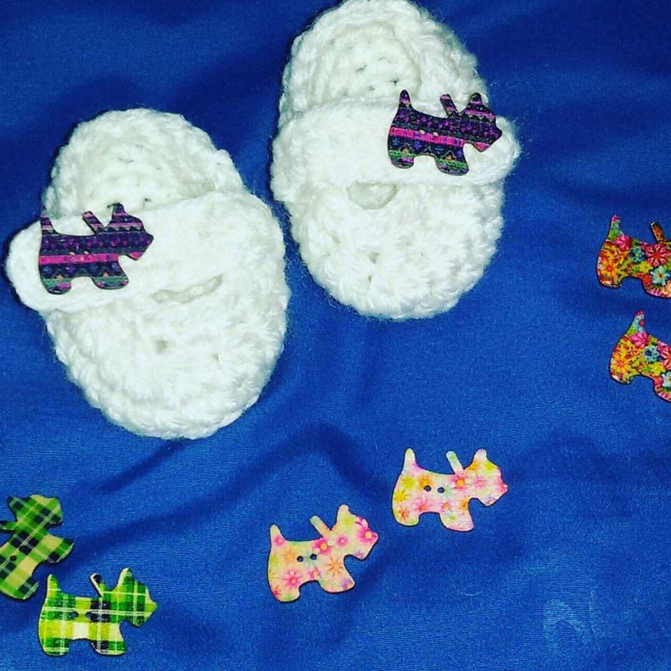 Scarpette uncinetto  crochet cotone