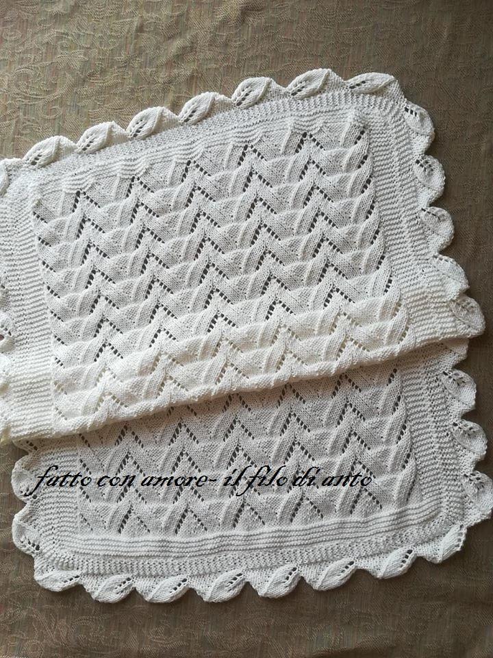 Copertina culla in puro cotone 100%  bianco