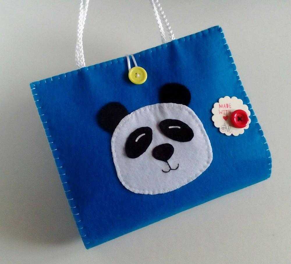 Kit lavagnetta  portatile - panda