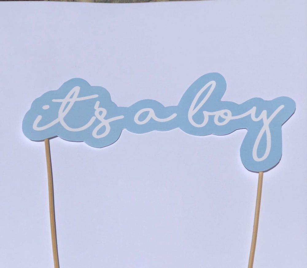 Topper it's a boy