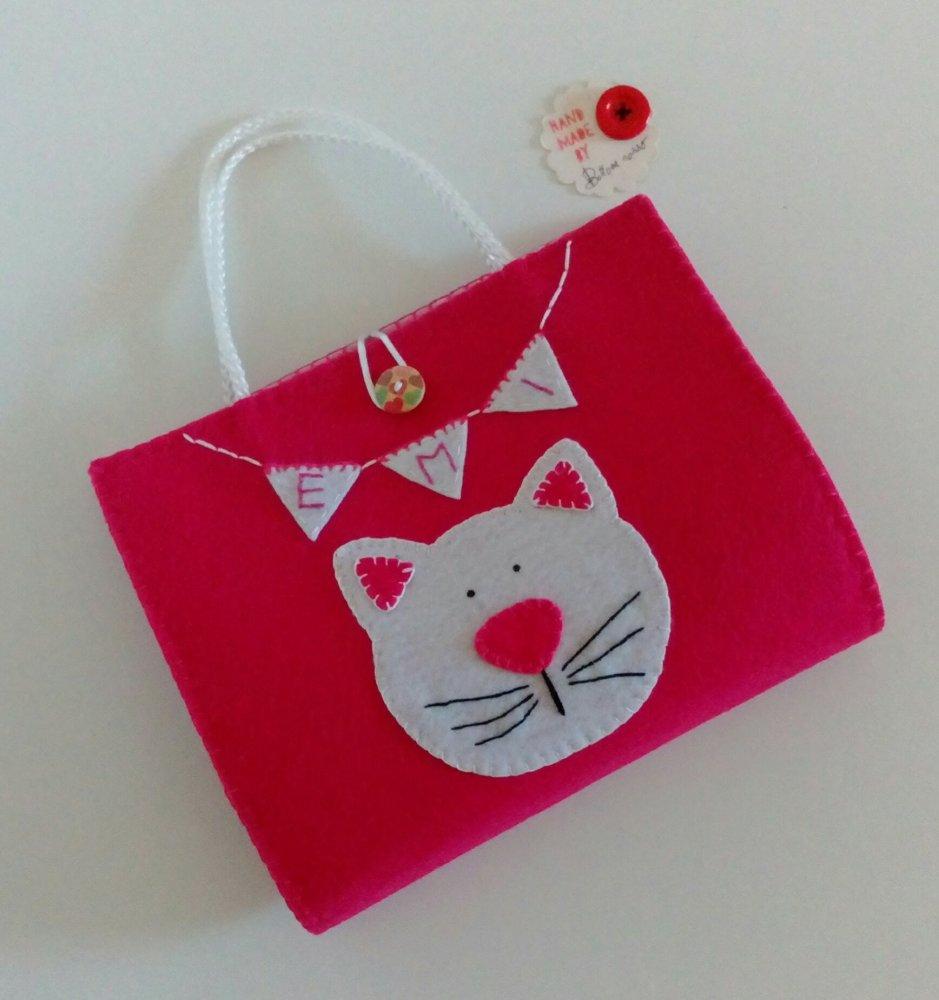 Kit lavagnetta  portatile - gatto