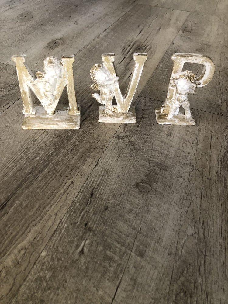 Lettere da appoggio con angelo MVP