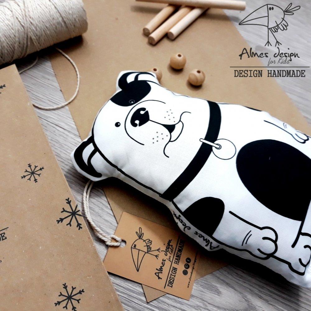 Pupazzo cotone stampa cagnolino/Pillow toys