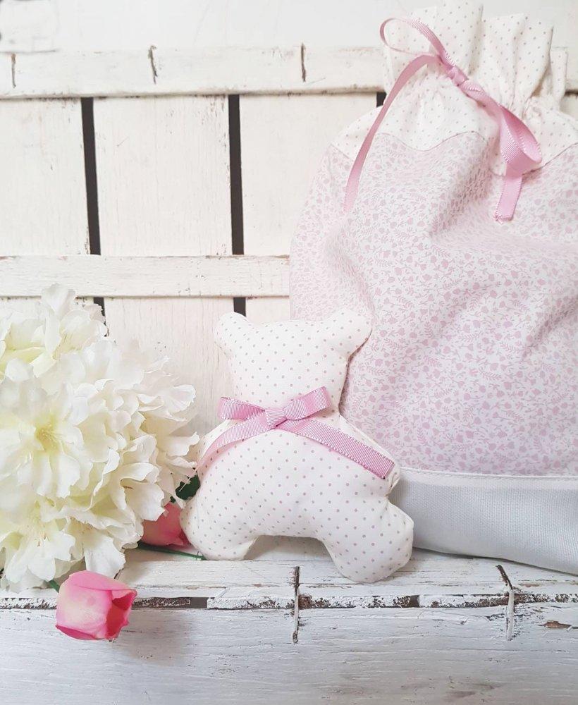 Sacche porta cambio- sacchetto portabiancheria- sacche primo cambio- sacchetto- sacca nascita- sacca neonato- set nascita- set asilo-neonata