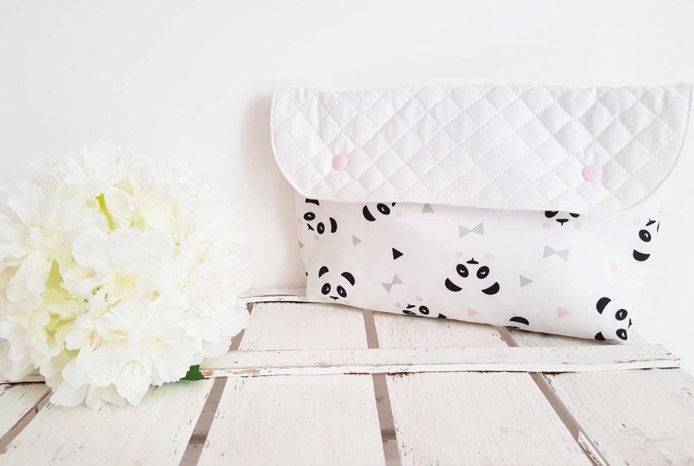 Pochette- Pochette porta tutto- portapannolini- set neonato-set nascita- clutch-diaper bag- borsone neonato- diaper clutch- cambio neonato