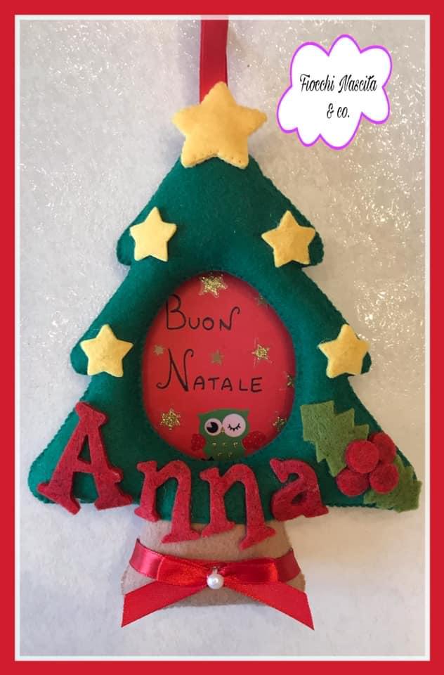 Cornicetta albero di Natale