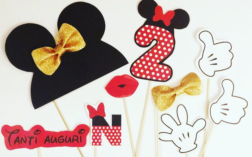 Props per Photobooth minnie