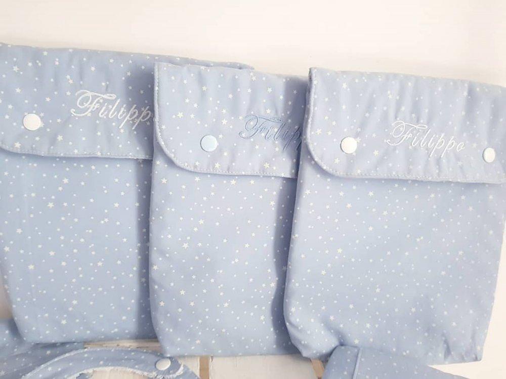 Portapannolini da borsa- portapannolini- cambio neonato- borsone neonato- diaper bag- set nascita- set portapannolini- sacca pannolini-