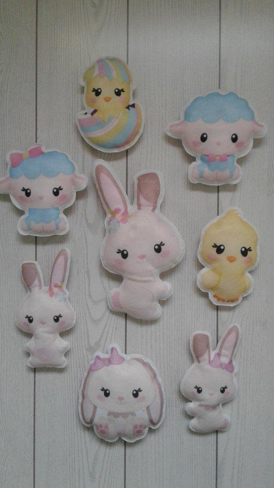Decorazioni personaggi di Pasqua
