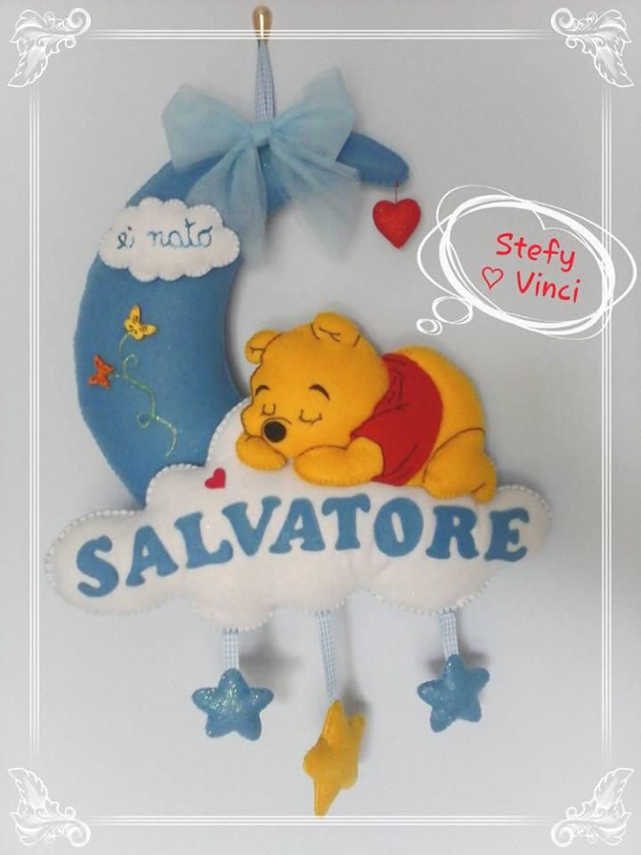 Fiocco Luna Winnie the Pooh