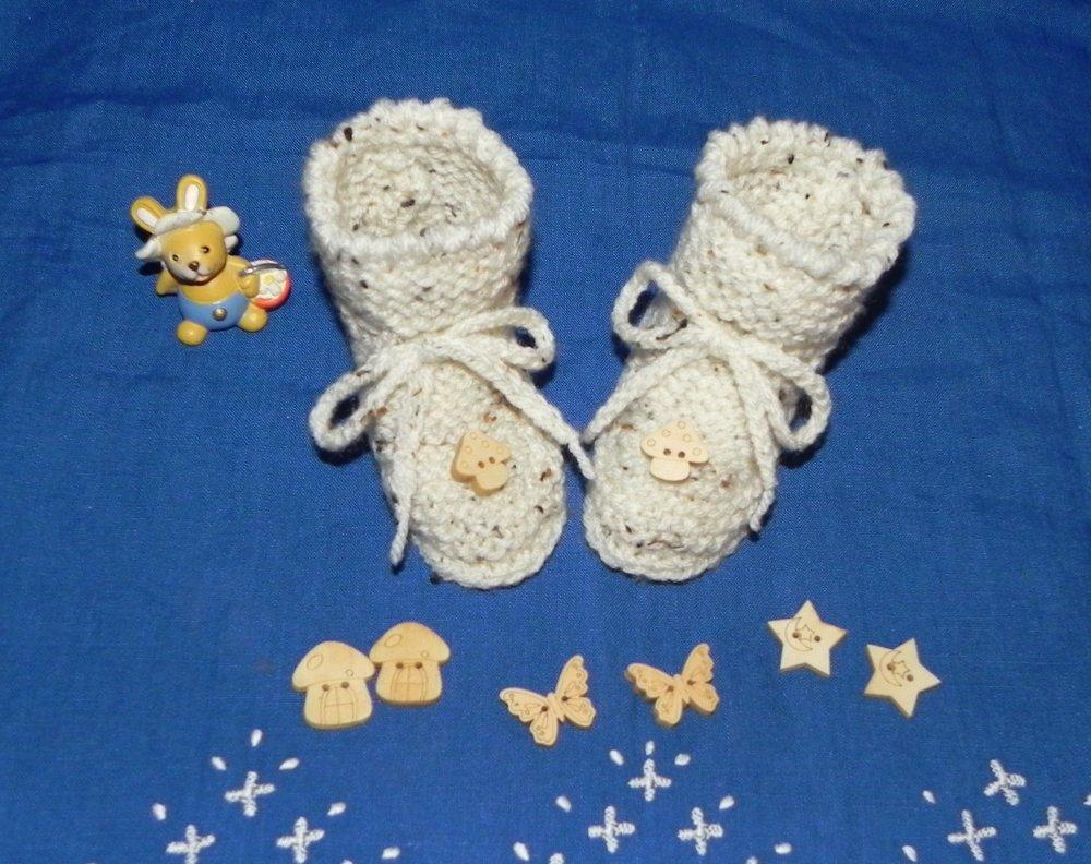 Scarpette scarpine bebè uncinetto crochet