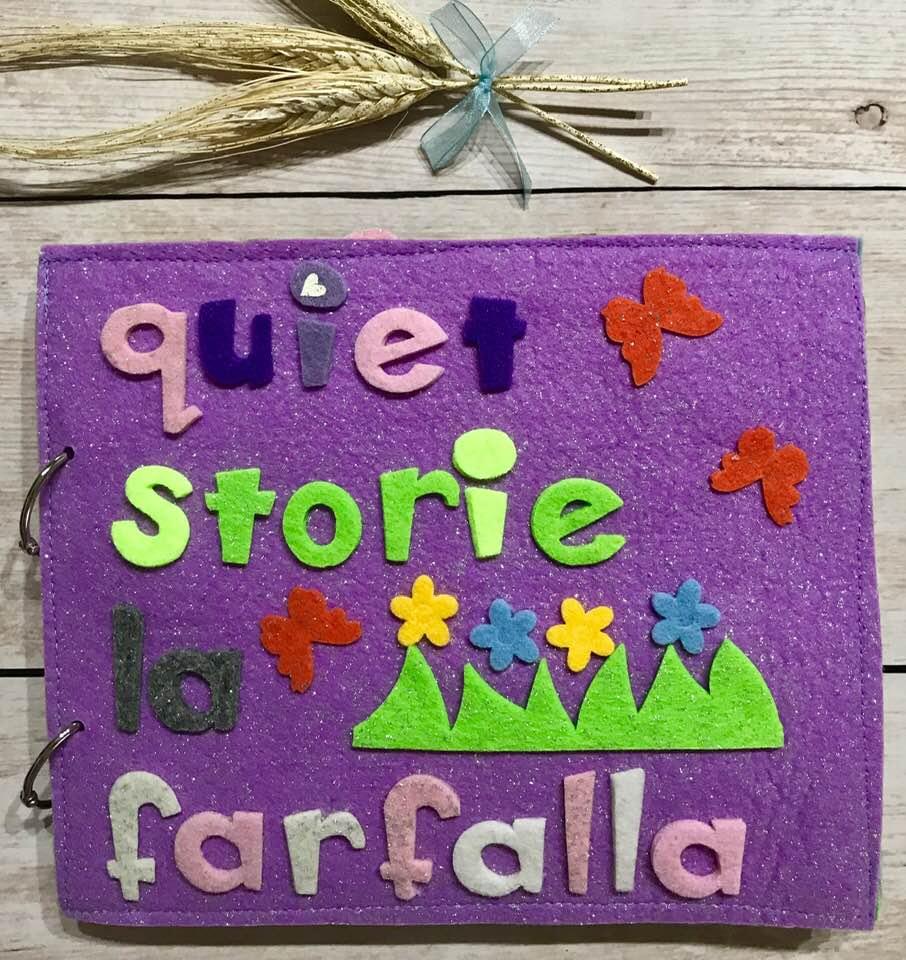 QuietBook Storie: La Farfalla