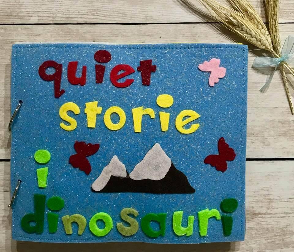 QuietBook Storie: I Dinosauri
