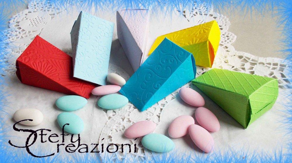 Scatoline  Fetta di Torta Piccola (Lotto 5 pezzi)