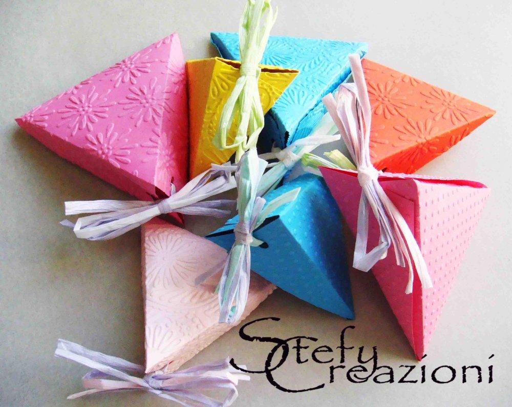 Scatoline Triangolo  (Lotto 5 pezzi)