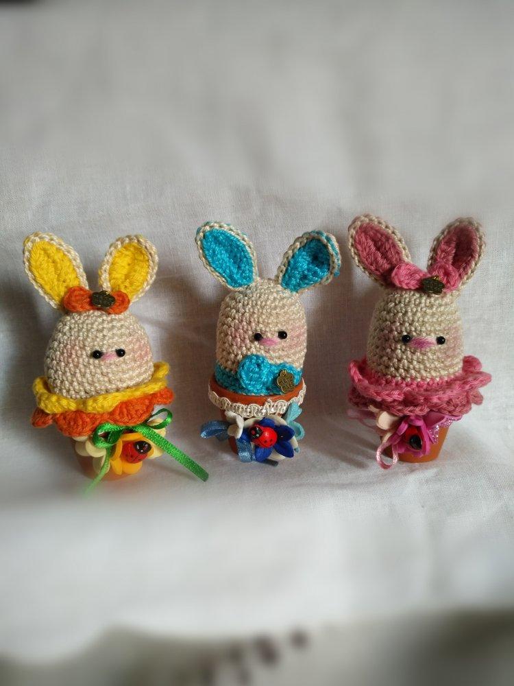 La piccola bottega della Creatività: Coniglietto amigurumi ... | 1000x750