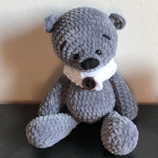 Teddy Bear, Panda, amigurumi toy for a newborn or child gift
