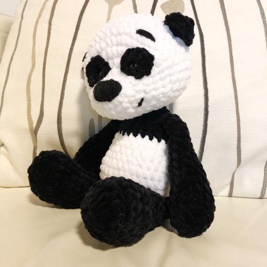 Teddy Bear, Panda, amigurumi toy for a newborn or child gift