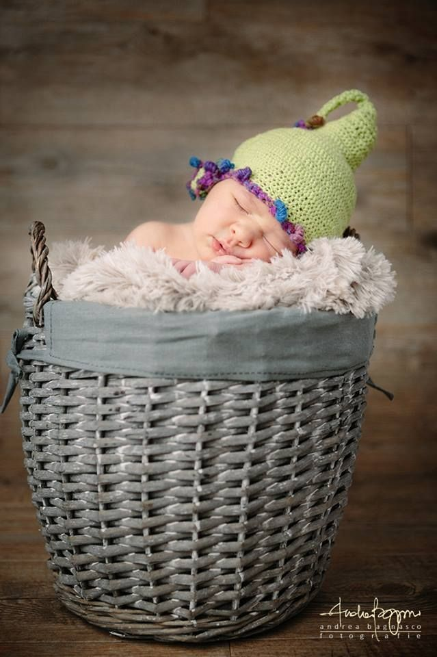 Cappellino verde elfo