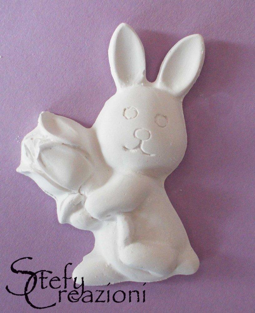 Coniglietto Gesso Profumato (Lotto 5 pezzi)