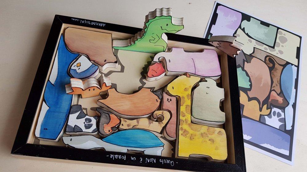 Non puzzle - Animali A