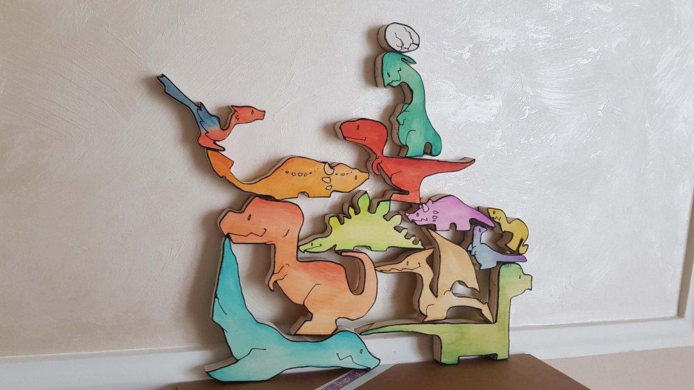 Non puzzle - Dinosauri