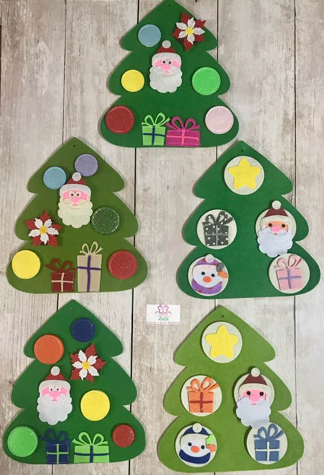 Alberello natalizio Attacca/Stacca