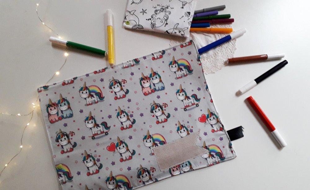 Tovaglietta americana da colorare per bambini e bambine