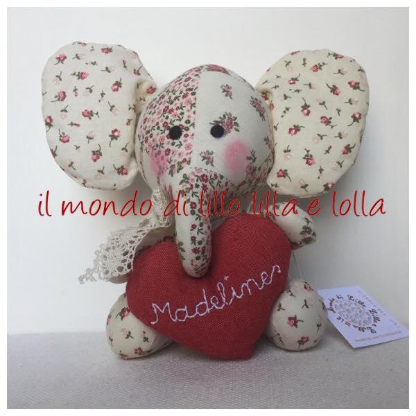 dolce elefantino personalizzato