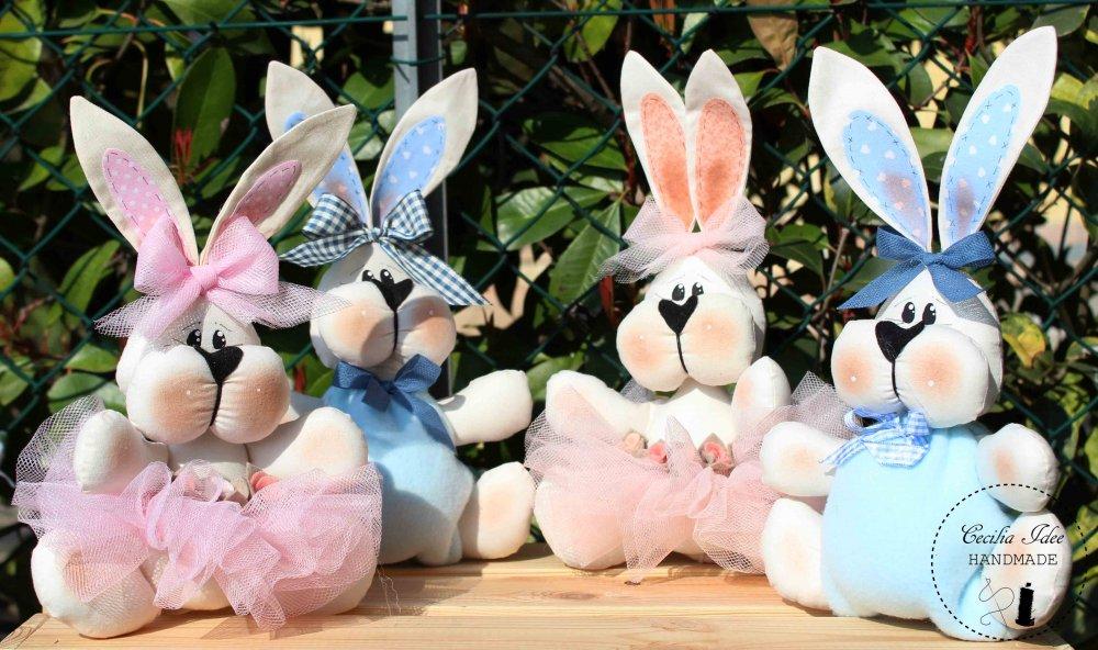 coniglietti di Pasqua- Bomboniera