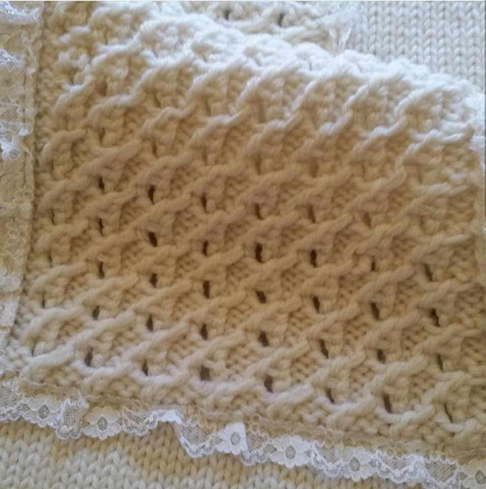 Copertina in morbida lana merino