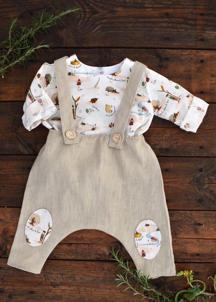 Completo pantalone e camicia bambino